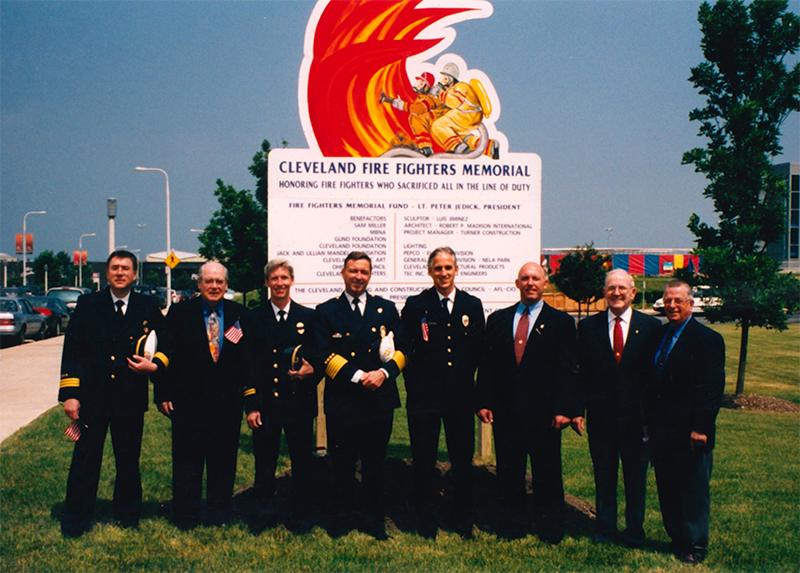 FIRE MEMORIAL GROUNDBREAKING Edited